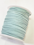Pastel Seamist Faux Suede Cord - 5m - Seamist Suede Cord