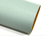NEW Misty Green Faux Leatherette Litchi