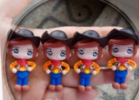 Toy Story 4 Bow Clays - In Stock Now