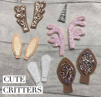 Cute Critters Plastic Trace and Cut Template