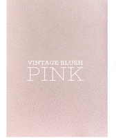 Vintage Blush Pink Faux Leather Fabric