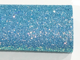 Blue Magic Chunky Glitter Fabric 1.0mm