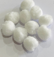 White Fur Balls 10 pack