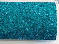 Aqua Glitter Fabric Sheet 0.9mm Thick