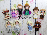 SALE Frozen 2 Bow Clays