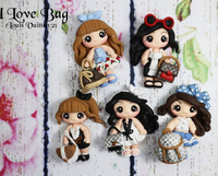 Fashion Girls Bow Clays