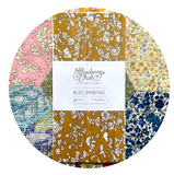 Summer Blooms 19b Liberty of London Bias Binding -20mm - 100% cotton Liberty Tana Lawn - 3m 3.28 Yards