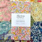 Wiltshire Bud A Liberty of London Bias Binding -20mm - 100% cotton Liberty Tana Lawn - 3m 3.28 Yards