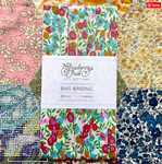 Wiltshire Y Liberty of London Bias Binding -20mm - 100% cotton Liberty Tana Lawn - 3m 3.28 Yards