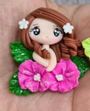 Flower Girl Bow Clays - 9 DESIGNS TO SELECT FROM