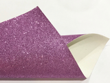 Sofia Purple Fine Glitter Fabric Sheet Thin 0.6mm