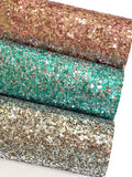 Silver and Bronze Sequin Glitter