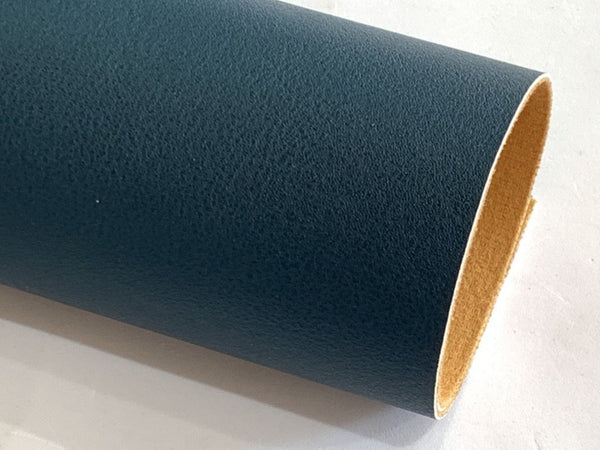 Peacock Smooth Faux Leatherette Fabric 1.2mm thick