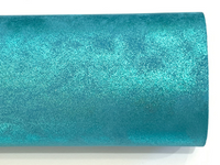 Aqua Shimmer Smooth 0.8mm Leatherette