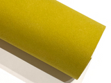 Bright Mustard Faux Suede A4 Sheet