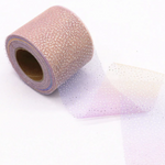 "Soft Lilac Pink Glitter Tulle  2.36"" 6cm x 5 Yard Lot"