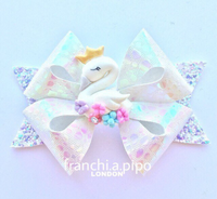 "FranchiStar Bow Plastic Template Trace and Cut Plastic Bow Template - Choice of 3.5"" or 4.5"""