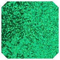 Chunky Green Glitter Fabric Sheet 0.7mm Thick Christmas Green Glitter A4 Sheets