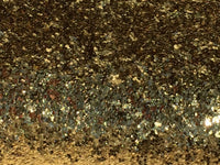 Chunky Yellow Gold Glitter Fabric Sheet 0.7mm Thick A4 or A5 Sheets Chunky Brass Gold Glitter A4 Sheets