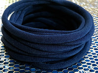 NAVY BLUE Nylon Headbands, Soft Nylon Bands, Baby Headbands, DIY Bows, Hair Bow Supplies, DIY Supplies, One Size Fits Most Headbands