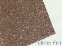 Glitter Felt Champagne Gold Glitter Felt Sheet Gold Glitter Powder Felt backed Fabric for Hair Bows and Craft