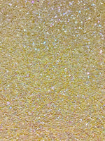 Pale Pastel Yellow Chunky Glitter Fabric Sheet A5 orA4 Size pastel Pastel Pale Yellow Glitter Fabric -  8X11 Glitter Sheet