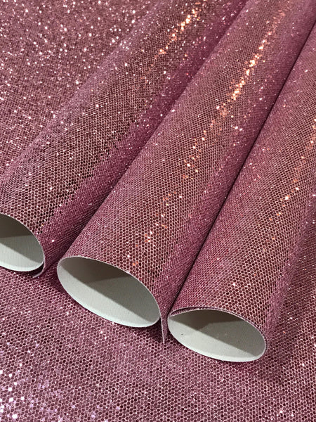 Dusty Pink Chunky Glitter Brainbow Glitter 0.8mm Thickness Glitter Bows Jewellery Hair Bows