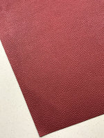Pearl Burgundy Leatherette Sheet 1.0mm Thickness A4 or A5 Size Faux Leather Fabric