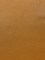 Mustard B 1.0mm Textured Leatherette A4 or A5 Size Faux Leather Fabric Sheets