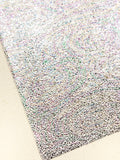 Holographic Rainbow Pebble Leatherette 0.9mm thick A4 sheet