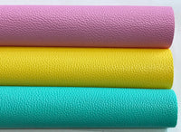 Fruit Tingle Leatherette Sheet Thick 1.1mm 4 colours