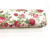 Red Floral Leatherette A4 Sheet 210 x 297mm Floral Leather Bows Floral Leather Headbands