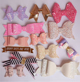 Plastic Hair Bow Templates