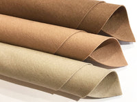 1mm Light Brown Merino Wool Felt A4 Sheet - No. 33