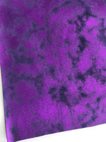 Purple Magenta Shimmer Smooth 0.8mm Leatherette