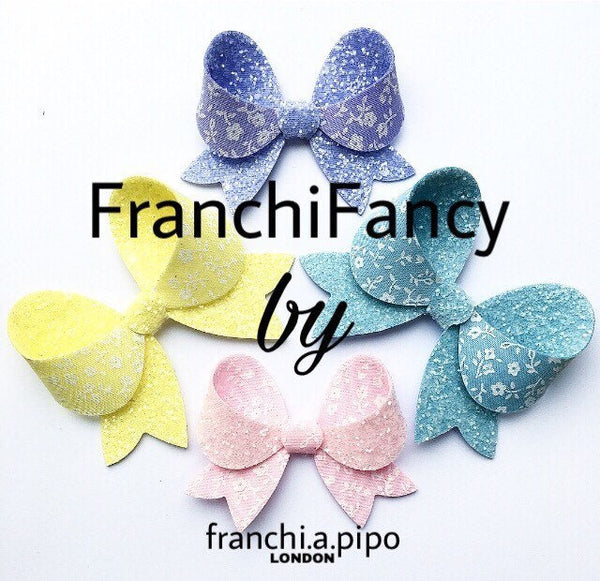 FranchiFancy Bow Plastic Trace and Cut Template