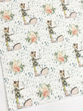 Rainfall Friends Felt Backed Fabric Sheets