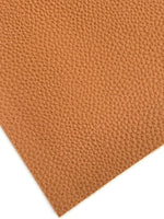 Tan Brown Textured Leatherette A4  Sheet 1.0mm Litchi Print Leatherette