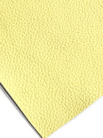 Pastel Yellow Faux Leather  1.2mm thick