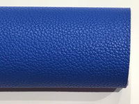Royal Blue Leather A4 Sheet 1.2mm Thick