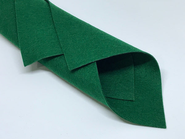 1mm Sacramental Green Merino Wool Felt A4 Sheet - No. 48