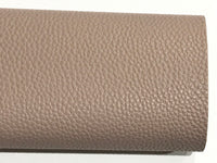 Light Taupe Leatherette Sheet A4 PU Leather Thick 1.0mm