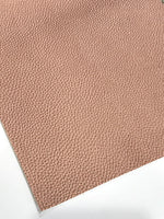 Rose Gold Leatherette 1.2mm Thickness
