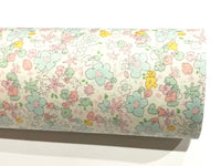 Meadow Spring Michael Miller Floral Double Sided Cotton Fabric Felt
