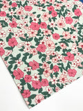 Floral Felt Backed Fabric Sheets