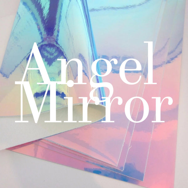Angel Mirror Patent Leatherette 1.2mm Holographic Glossy Leather