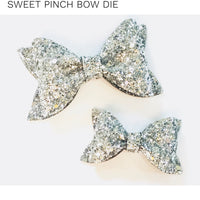 Sweet Pinch Hairbow Die Duo Sizzix Bigshot Compatible