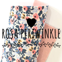Rosa Periwinkle - Les Fleurs Double Sided Fabric Sheets