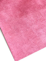 Dark Pink Horse Hair Faux Leatherette