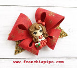 NEW FranchiFly Plastic Hairbow Template Trace and Cut - IN STOCK